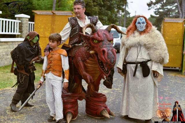Cidre et Dragon - Animations medievales - Magie Medievale