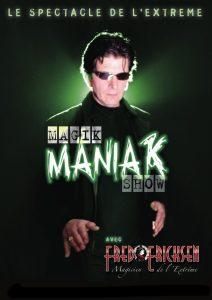 affiche magik maniac show