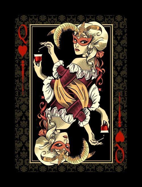 , Collection jeu de cartes dame de coeur, Fred Ericksen • Magicien Lyon • Conférencier mentaliste, Fred Ericksen • Magicien Lyon • Conférencier mentaliste
