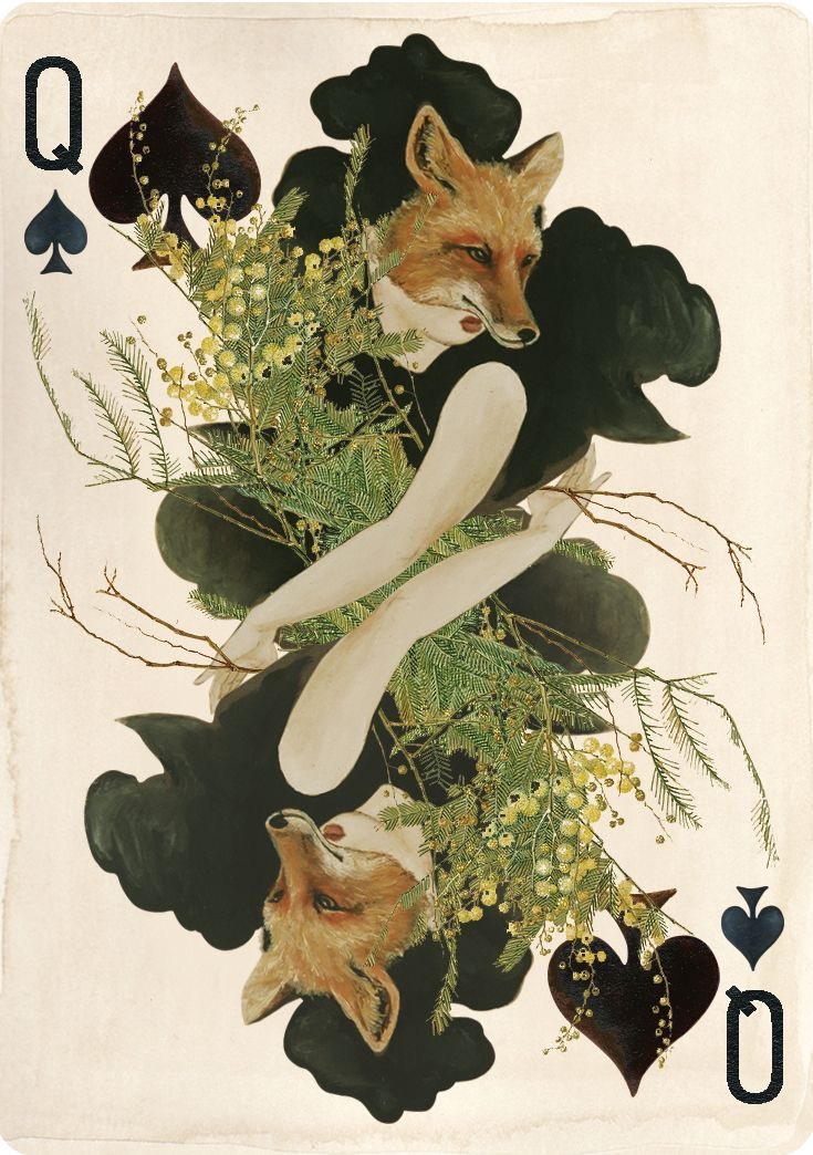 collection privée jeu de cartes animaux