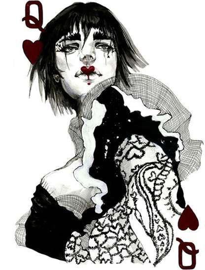 collection privee cartes à jouer fred ericksen magicien 137 • Collection jeu de cartes dame de coeur • Fred Ericksen • Magicien Lyon • Conférencier mentaliste