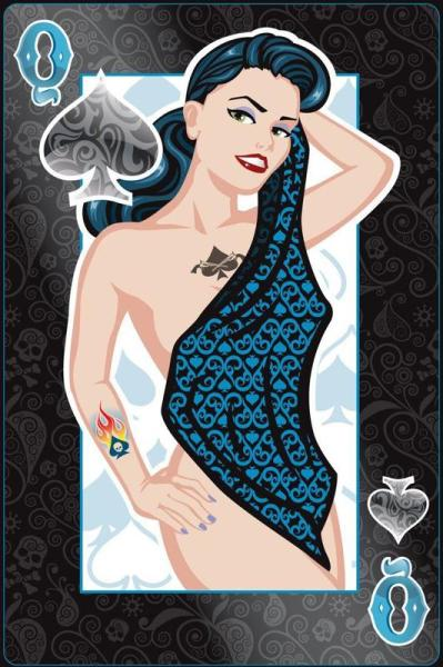 Collection privée des cartes à jouer sexy de Fred Ericksen