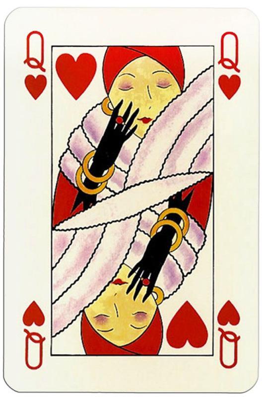 collection privee cartes à jouer fred ericksen magicien 261 • Collection jeu de cartes dame de coeur • Fred Ericksen • Magicien Lyon • Conférencier mentaliste