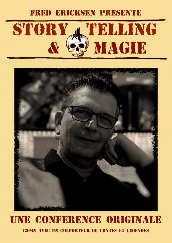 ", Conférence ""Storytelling & Magie"", Fred Ericksen • Magicien Lyon • Conférencier mentaliste, Fred Ericksen • Magicien Lyon • Conférencier mentaliste"