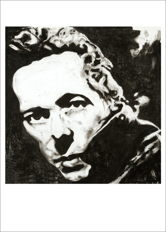 Joe Strummer, 2021, impression pigmentaire, 50x70 cm. Fred Kleinberg, art édition.