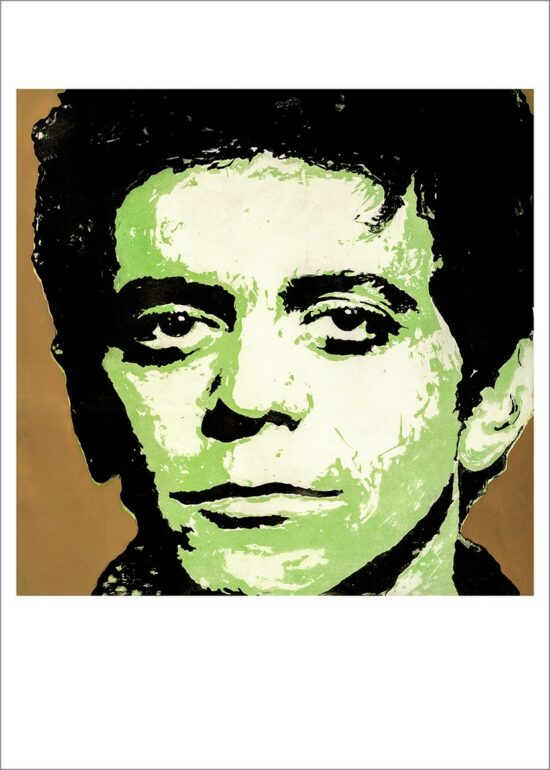 Lou Reed, 2021, impression encre pigmentaire, 50x70 cm, Fred Kleinberg, art édition.