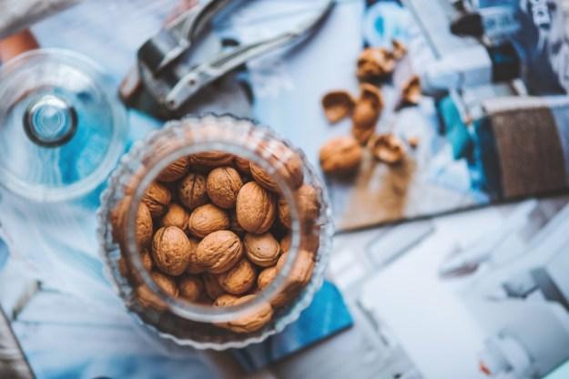 Walnuts in a Bottle