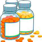Bottles of Generic and Branded Medicine
