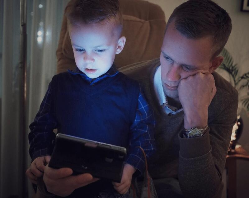 Levi & his dad