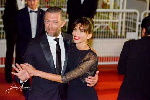 Vincent Cassel, Maiwenn on the Red Carpet in the Festival Internationnal of the film from Cannes Cannes, May 17, 2015