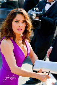 Salma Hayek on the Red Carpet in the Festival Internationnal of the film from Cannes Cannes, May 17, 2015