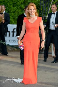 Sarah Ferguson Duchess of York at AmfAR's 22nd Cinema Against AIDS Gala, Presented By Bold Films And Harry Winston at Hotel du Cap-Eden-Roc on May 21, 2015 in Cap d'Antibes, France.