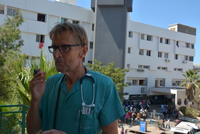 Mads Gilbert le médecin urgentiste qui a écrit une lettre ouverte à Obama @Frédéric Helbert