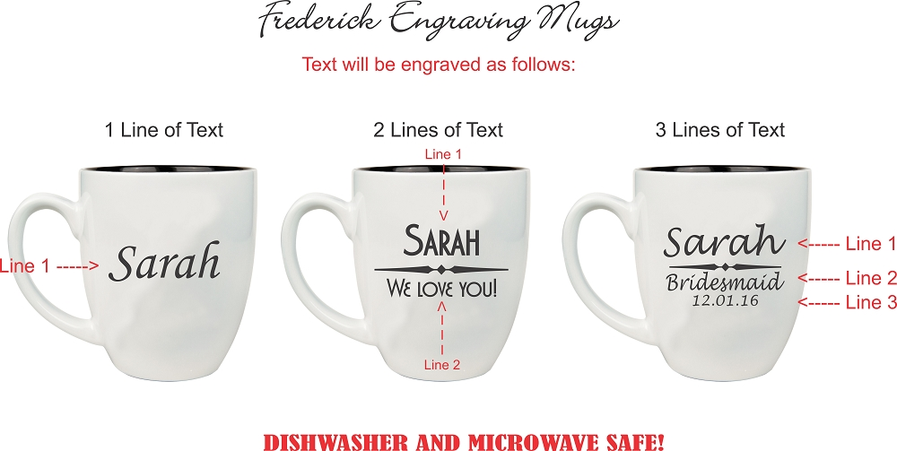 personalized coffee mug engraved