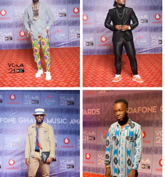 Checkout What Your Favorite Celebrities Are Wearing To The #VGMA21