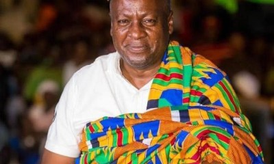 John Mahama Installed As Nkosuohene Of Apesika
