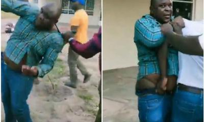 Man Beaten Mercilessly After Being Caught Red-Handed Trying To Sleep With His Boss Wife In Zimbabwe
