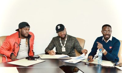 Davido Signs New Artiste, Deinde, To His Record Label, DMW