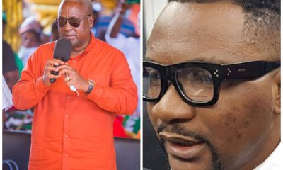 """There Is Nothing Wrong With Contracting Celebrities To Endorse Political Parties"" Mr Logic Replies John Mahama"