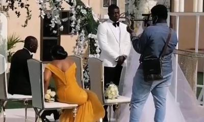 Lexis Bill Ties The Knot In A Simple Private White Wedding