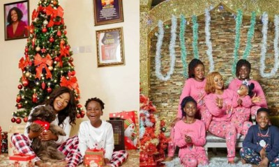 , Christmas: Some lovely family photos from Ghanaian celebrities, Frederick Nuetei