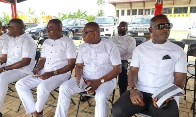 The rich men of East Legon Executive Men's Club at funeral of Abeiku Santana's father