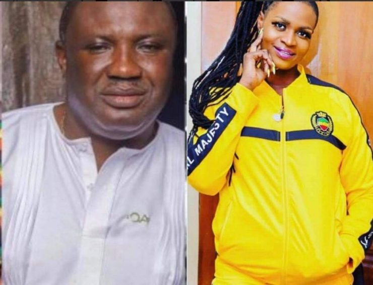 royalties, I'm fighting for Castro's royalties not contributions for the family – Ayisha Mordi replies Alordia Promotions, Frederick Nuetei