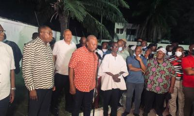 John Mahama speaks on election results