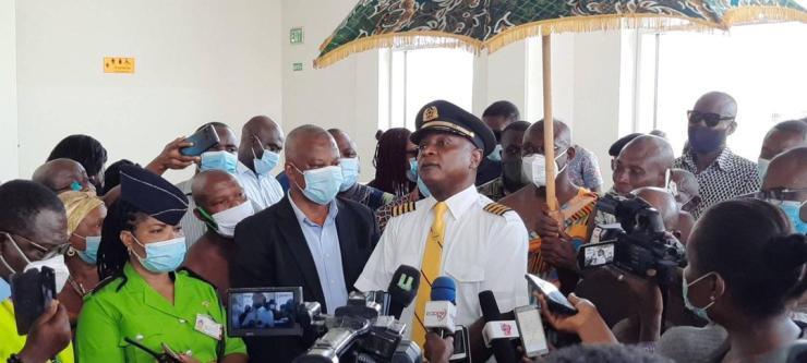, Ho Airport officially commissioned for commercial purposes (video), Frederick Nuetei