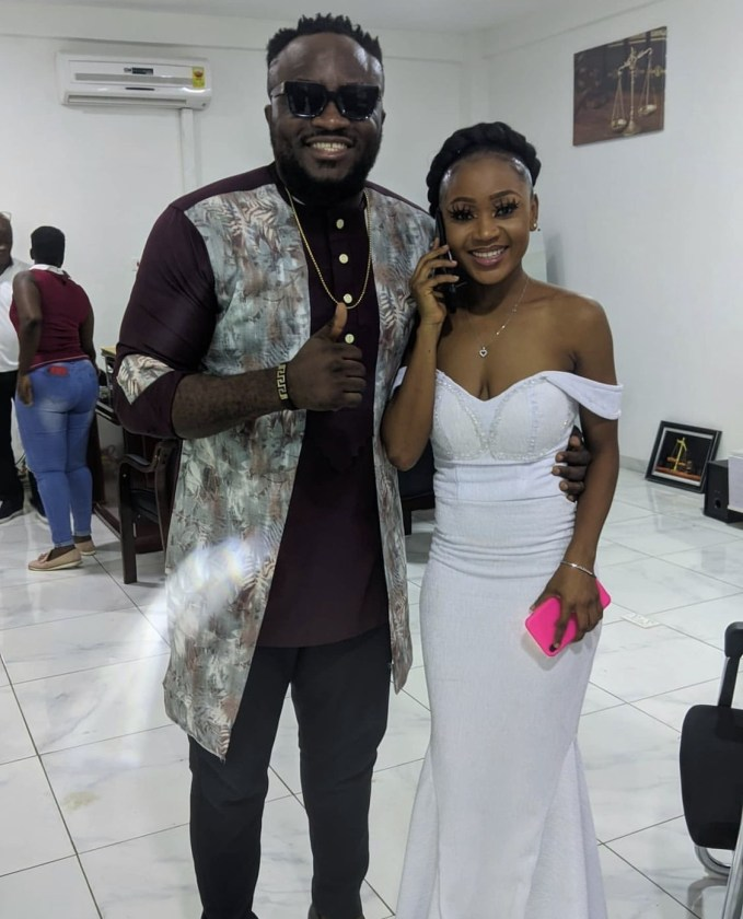 , DKB releases police report to sue Akuapem Poloo over allegedly claiming that he's hoarding a sum of GHc 4,000.00 that was meant for her while in jail, Frederick Nuetei