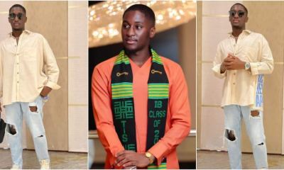 , Saahene Osei drops new fashion photos after graduating from TIS, Frederick Nuetei