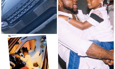 , Davido gifts his first child, Imade a brand new Range Rover ahead of her birthday, Frederick Nuetei
