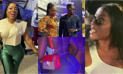 , Wendy Shay, Efia Odo, Moesha and others storm Ghkwaku's party to mark his b'day (video), Frederick Nuetei