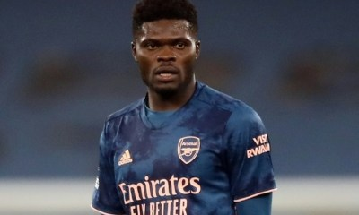 , Meet the parents of Black Stars and Arsenal player, Thomas Partey at the launch of his foundation, Frederick Nuetei
