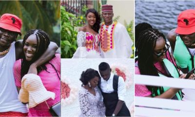 , Stonebwoy and his wife, Dr Louisa celebrates their 4th wedding anniversary with lovely video and photos, Frederick Nuetei