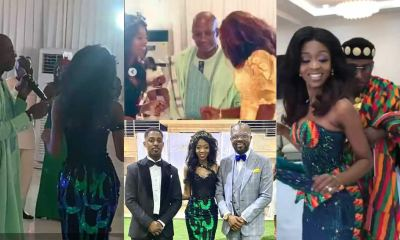 , Rex Omar's pretty daughter marries in a beautiful wedding; photos and videos drop, Frederick Nuetei