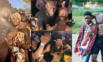 , Video: Yaw Tog links up with Stormzy at his 28th birthday party in UK, Frederick Nuetei