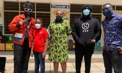 , Video drops as Dope Nation storms Oswald's school to perform for them, Frederick Nuetei