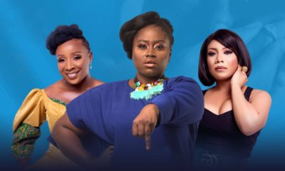 , Lydia Forson, Zynnel Zuh and Naa Ashorkor in new drama series 'To Have and to Hold', Frederick Nuetei
