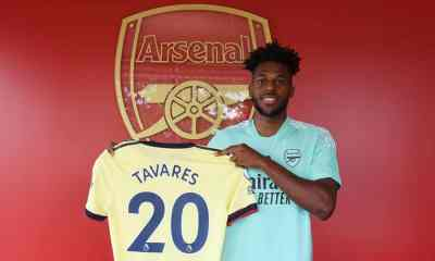 , Arsenal have completed signing of Nuno Tavares from Benfica, Frederick Nuetei