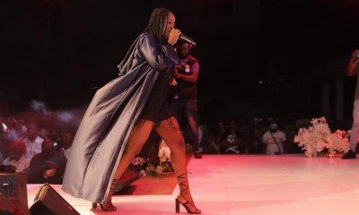 , Gyakie wows fans with her Live Experience concert in Kumasi; videos and photos pop up, Frederick Nuetei