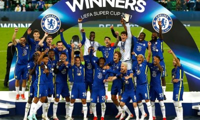 , Chelsea wins the UEFA Super Cup on penalty shootout, Frederick Nuetei