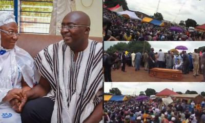 , Dr. Bawumia's mother laid to rest in Walewale, Frederick Nuetei