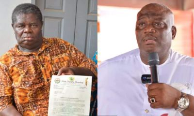 , Hon. Henry Quartey has dedicated GHc1,500 out of his salary to be paid to Psalm Adjeteyfio every month, Frederick Nuetei