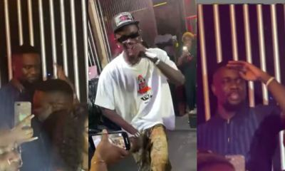 , Sarkodie shows massive support as he jams to Black Sherif's song during live concert, Frederick Nuetei