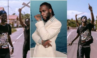 , Burna Boy spotted in video rapping Black Sherif's 'Second Sermon' word for word, Frederick Nuetei