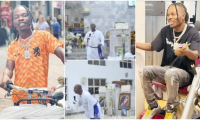 , He Just Smokes but Has Sense: Pastor sings Naira Marley's song in church; praises the musician in new video, Frederick Nuetei
