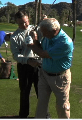 Arnold Palmer and Roger Fredericks