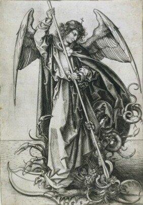 La domination des forces négatives par l'ange