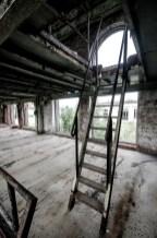 Papierfabriek De Naeyer trap